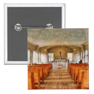 Church - Inside a church Buttons