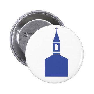 Church logo 6 cm round badge