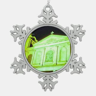 Church of Holy Week. Pewter Snowflake Decoration