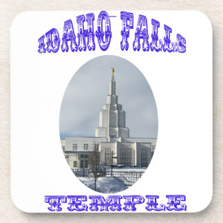 Church of Jesus Christ of Latter Day Saints Temple Drink Coasters