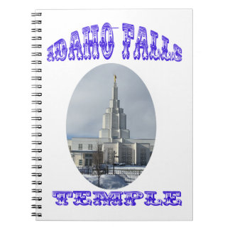 Church of Jesus Christ of Latter Day Saints Temple Notebook