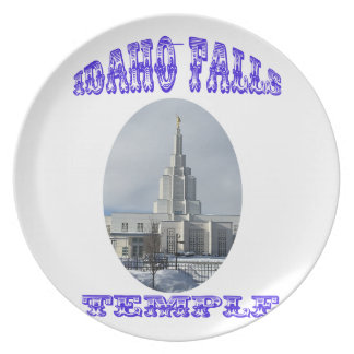 Church of Jesus Christ of Latter Day Saints Temple Plate