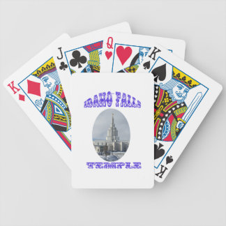Church of Jesus Christ of Latter Day Saints Temple Poker Deck