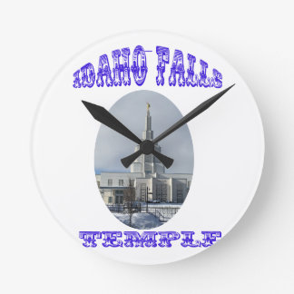 Church of Jesus Christ of Latter Day Saints Temple Round Clock
