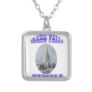Church of Jesus Christ of Latter Day Saints Temple Silver Plated Necklace