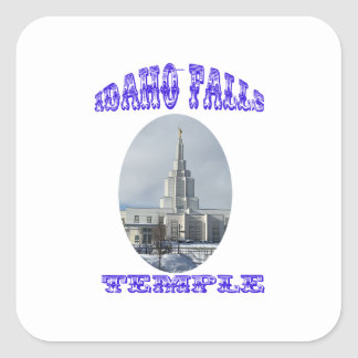 Church of Jesus Christ of Latter Day Saints Temple Square Sticker