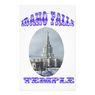Church of Jesus Christ of Latter Day Saints Temple Stationery Paper