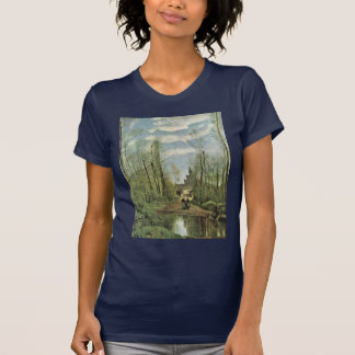 Church Of Marissel By Corot Jean-Baptiste-Camille T-Shirt