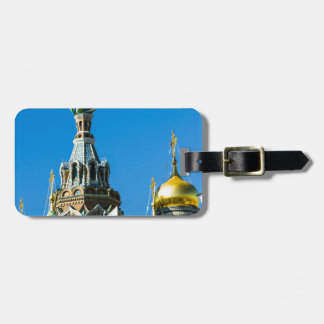 Church of Our Savior on Spilled Blood Bag Tag