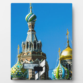 Church of Our Savior on Spilled Blood Photo Plaque
