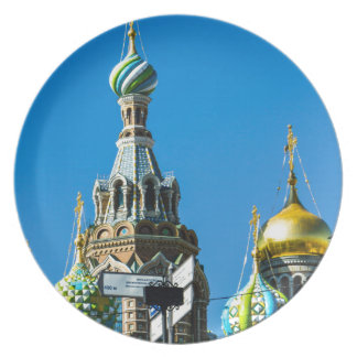Church of Our Savior on Spilled Blood Plate