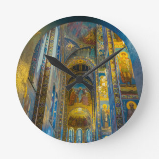 Church of Our Savior on The Spilled Blood, Cathedr Round Clock