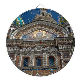 Church of Our Savior on The Spilled Blood Dartboard With Darts