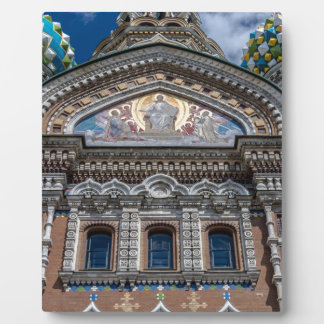 Church of Our Savior on The Spilled Blood Display Plaque