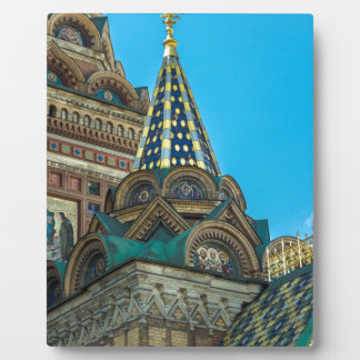 Church of Our Savior on The Spilled Blood Display Plaques