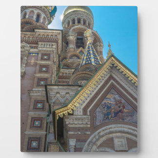 Church of Our Savior on The Spilled Blood Photo Plaque