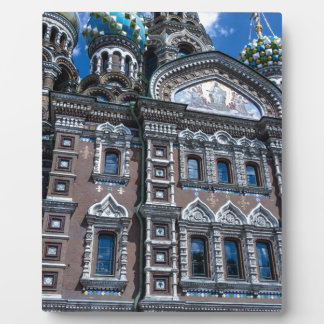 Church of Our Savior on The Spilled Blood Plaque