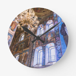 Church of Our Savior on The Spilled Blood Round Clock