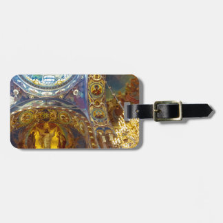 Church of Our Savior on The Spilled Blood Russia Bag Tag