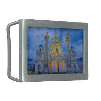 Church of Saint Charles, Vienna Belt Buckle