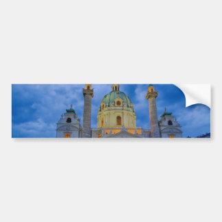 Church of Saint Charles, Vienna Bumper Sticker