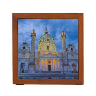 Church of Saint Charles, Vienna Desk Organiser