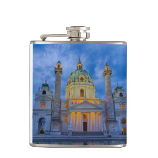 Church of Saint Charles, Vienna Hip Flask