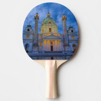 Church of Saint Charles, Vienna Ping Pong Paddle
