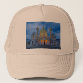 Church of Saint Charles, Vienna Trucker Hat