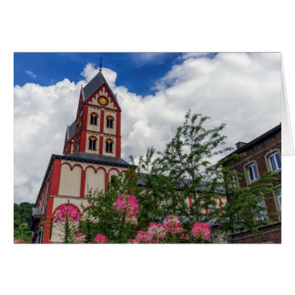 Church of St. Bartholomew, Liege, Belgium Card