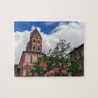 Church of St. Bartholomew, Liege, Belgium Jigsaw Puzzle