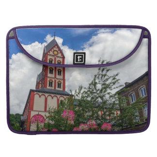 Church of St. Bartholomew, Liege, Belgium Sleeve For MacBooks
