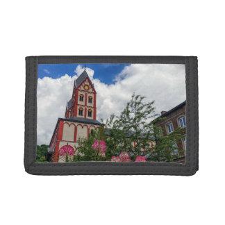 Church of St. Bartholomew, Liege, Belgium Trifold Wallets