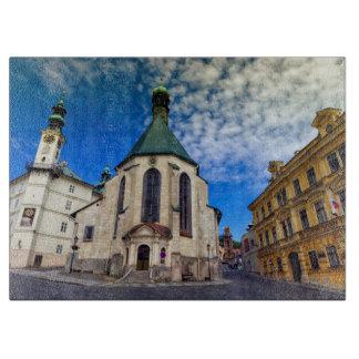 Church of St. Catherine, Banska Stiavnica,Slovakia Cutting Board