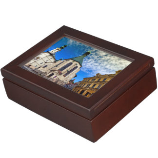 Church of St. Catherine, Banska Stiavnica,Slovakia Keepsake Box