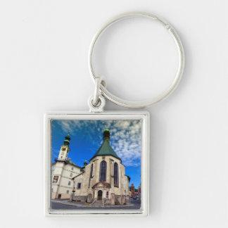Church of St. Catherine, Banska Stiavnica,Slovakia Key Ring
