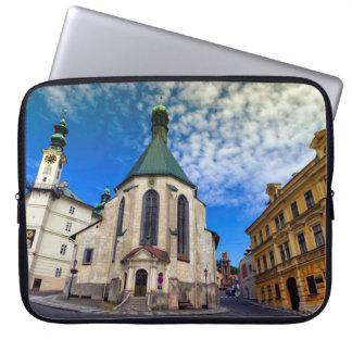 Church of St. Catherine, Banska Stiavnica,Slovakia Laptop Sleeve