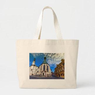 Church of St. Catherine, Banska Stiavnica,Slovakia Large Tote Bag