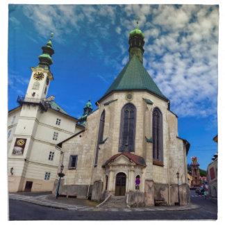 Church of St. Catherine, Banska Stiavnica,Slovakia Napkin