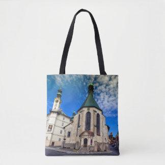Church of St. Catherine, Banska Stiavnica,Slovakia Tote Bag