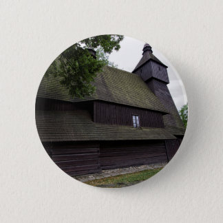 Church of St Francis Assisi - Hervartov - Slovakia 6 Cm Round Badge
