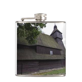 Church of St Francis Assisi - Hervartov - Slovakia Hip Flask