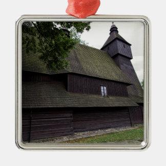 Church of St Francis Assisi - Hervartov - Slovakia Metal Ornament