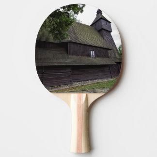 Church of St Francis Assisi - Hervartov - Slovakia Ping Pong Paddle