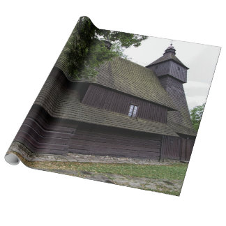Church of St Francis Assisi - Hervartov - Slovakia Wrapping Paper