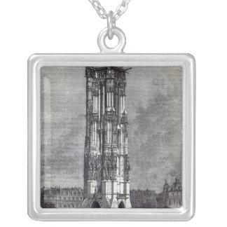 Church of St. Jacques de la Boucherie Silver Plated Necklace