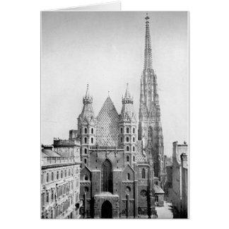 Church of St. Stephens, Vienna circa 1890 Card