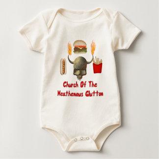 Church Of The Heathenous Glutton Baby Bodysuit
