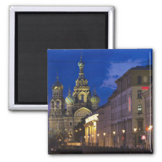 Church of the Saviour of Spilled Blood 3 Square Magnet