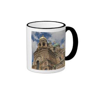 Church of the Saviour of Spilled Blood 4 Ringer Mug